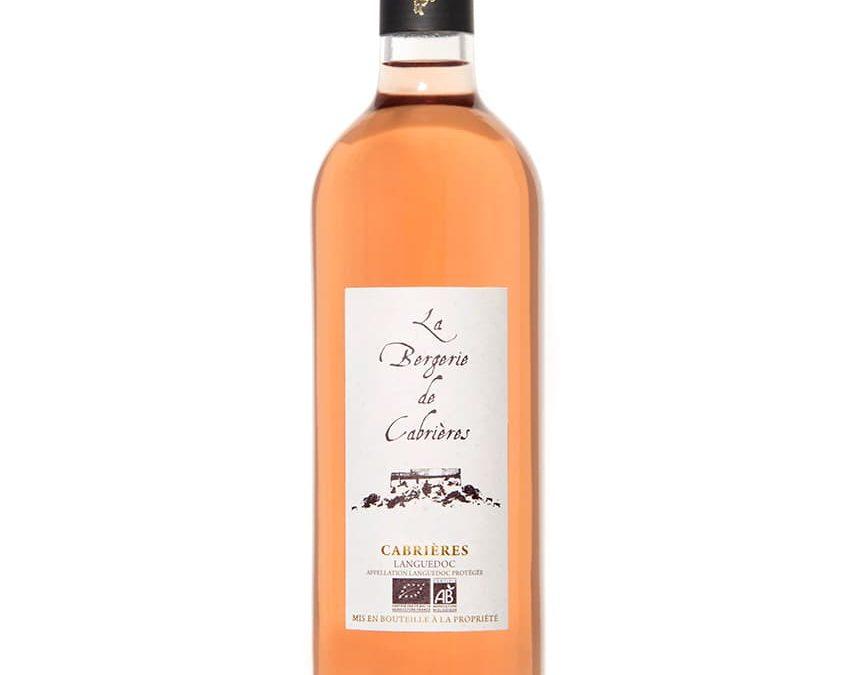 Vin bio Bergerie de Cabrières Rosé AOP Languedoc Cabrières