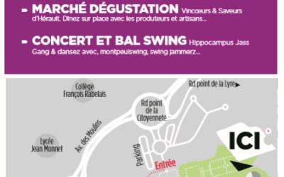 Marché Vincoeurs et saveurs d'Hérault du 28 juin 2018