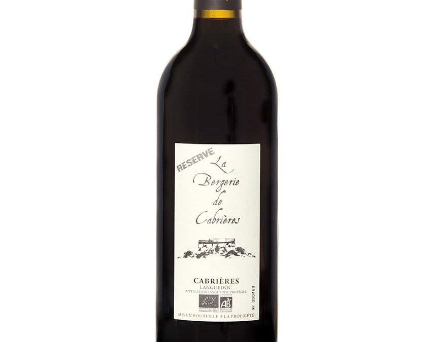 Vin bio Bergerie de Cabrières Rouge AOP Languedoc Cabrières